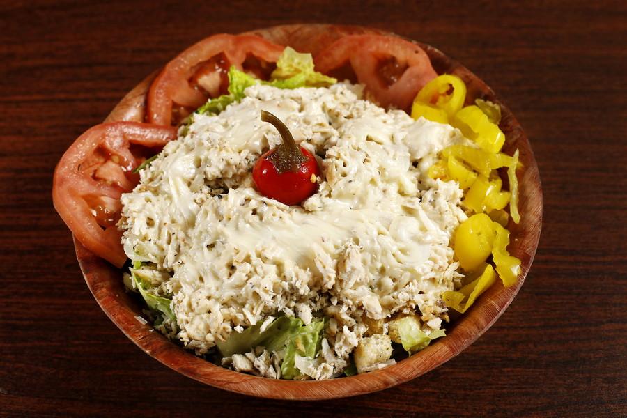 617823 Chicken Cheeseteak Salad