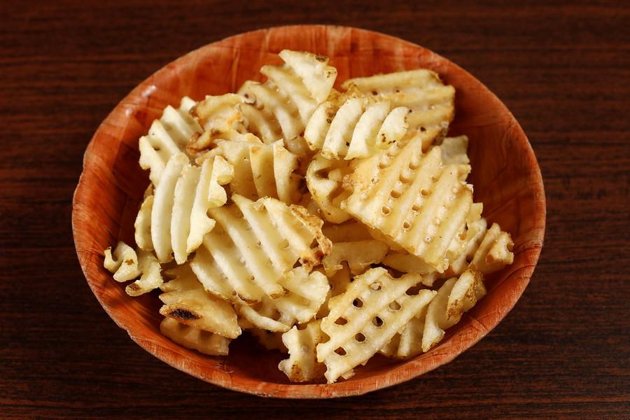 618072 Waffle Fries