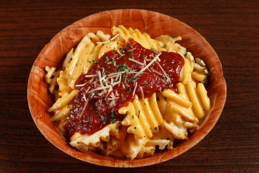 618075 Waffle Pizza Fries